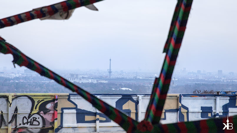 Berlin Teufelsberg Field Station | View to Funkturm