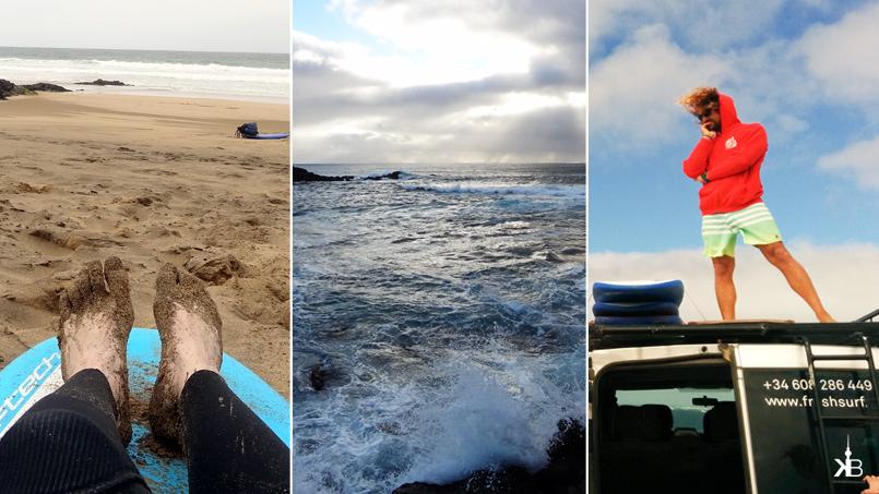 surf & yoga vacation in El Cotillo, Fuerteventura | kleppiberlin.de