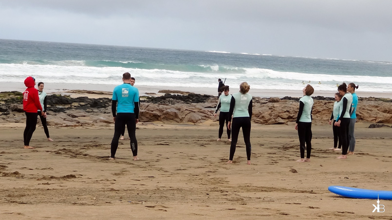 warm-up programm before becoming a surfer girl | kleppiberlin.de