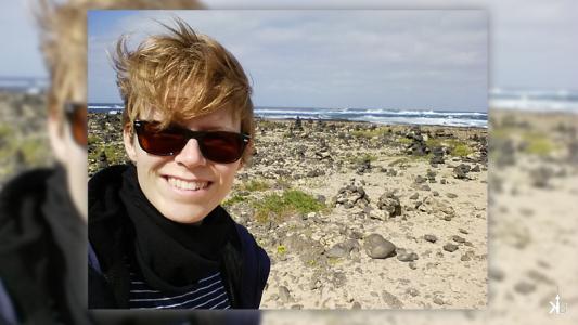 Fuerteventura has plenty of wind and messy hair is for sure   kleppiberlin.de