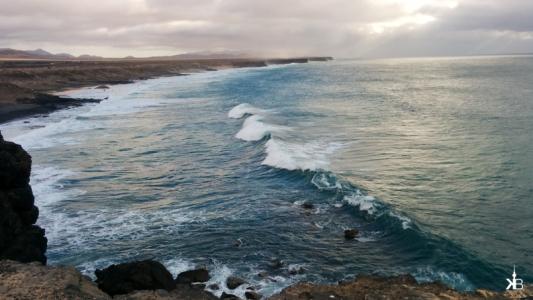 surfing spot in El Cotillo, Fuerteventura | kleppiberlin.de
