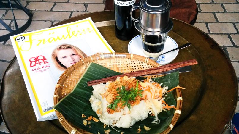 """perfect break: Bánh Xôi Khúc, """"Fräulein"""" magazine and vietnames coffee"""